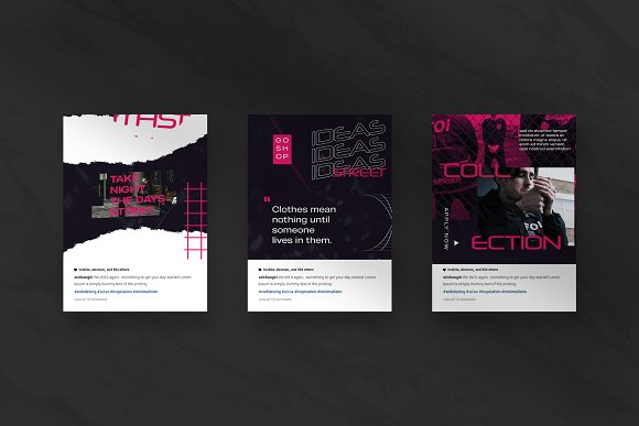 Oth-Hype Puzzle Instagram Feed in Instagram Templates - product preview 6