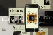 Editorial - Social media Kit