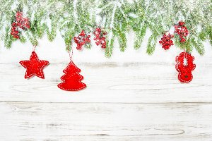Christmas background. Decoration