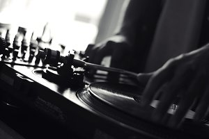 Old School Vinyl DJ