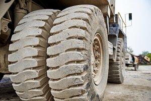 Haul dump truck tire