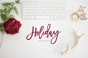 $5 SALE! Christmas Desktop Photo