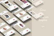 Gina Post Instagram Template
