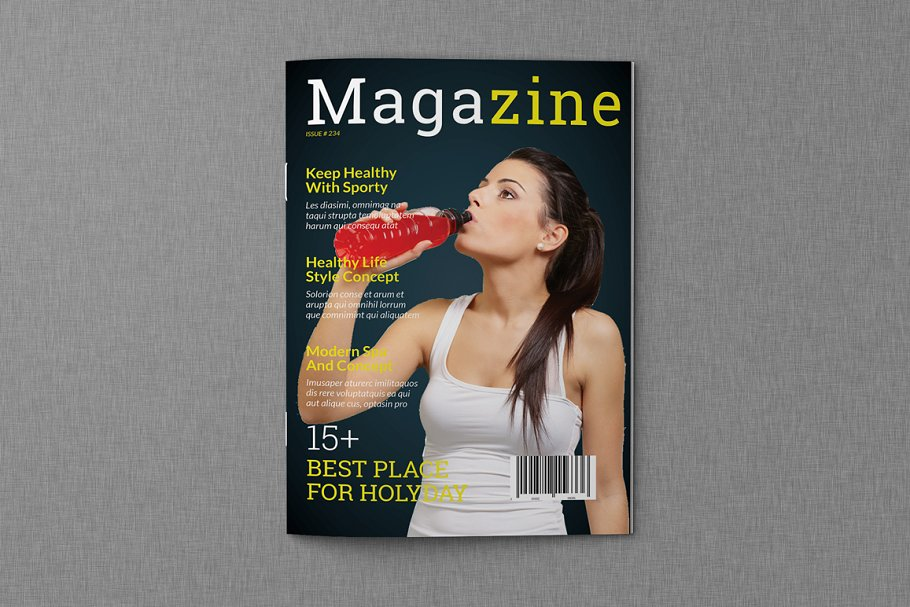 Magazine Template Off 35