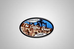 Coffee Quest Logo Design