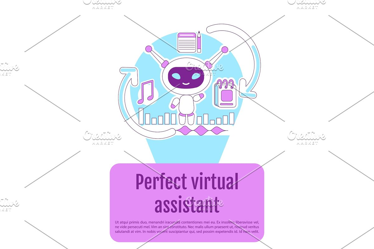 Assistant bot poster