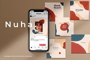 Nuha - Instagram template