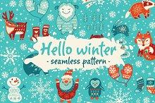 Hello winter pattern