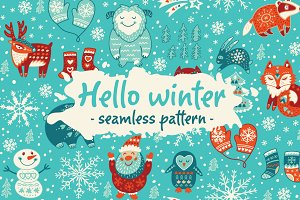 Hello winter pattern