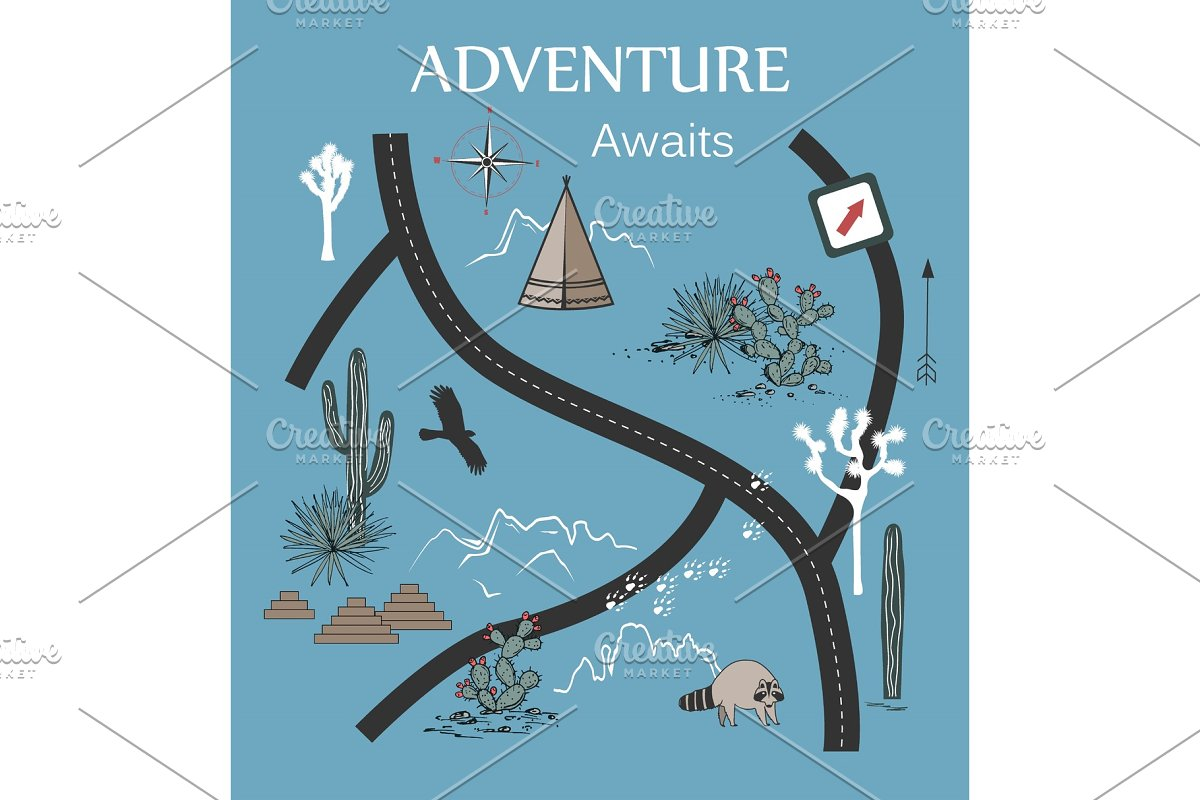 Roads, Mountains and Cacti Adventure