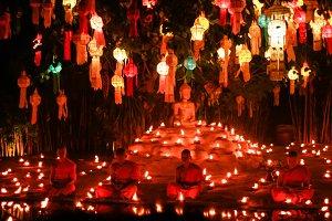 Chiangmai's lantern festival