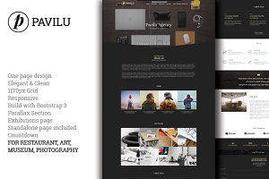Pavilu - One Page MultiPurpose theme