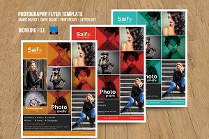 Photography Flyer | 3 Color | V134
