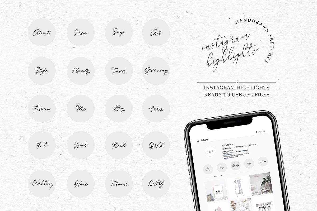INSTAGRAM HIGHLIGHTS / story sticker