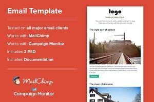 -%60 Email Newsletter(HTML)
