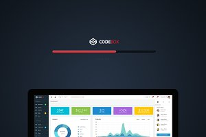 CodeBox – Admin Dashboard UI