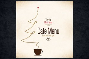 Special Christmas Cafe Menu