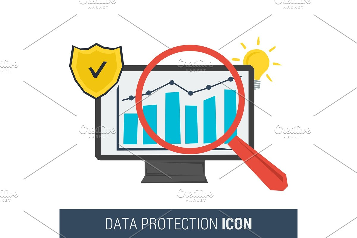 Icon concept data protection