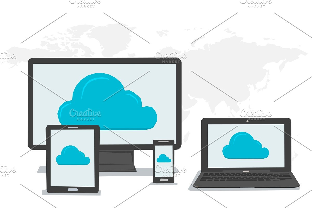 General cloud storage on different