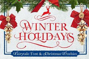 WINTER HOLIDAYS & Christmas Freebies