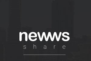 Newws Share - News & Magazine App UI
