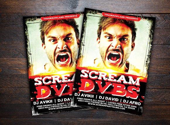 Scream DJ Party
