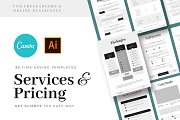 Services & Pricing Guide Templates