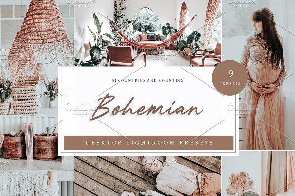 Bohemian Lightroom Presets   Desktop