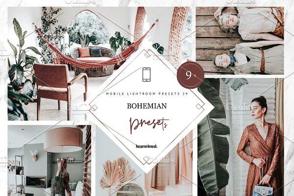 Bohemian Lightroom Presets   Mobile