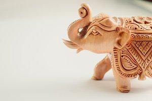 The Hindu elephant|Stock Photography