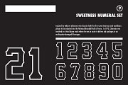 Sweetness Numeral Set