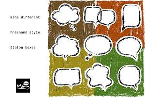 Dialog boxes