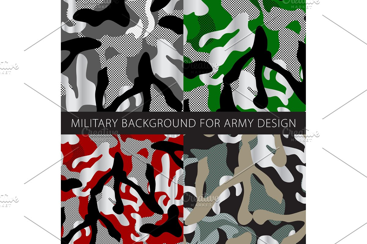 military background for army design