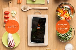 Food Share - Food App Template UI