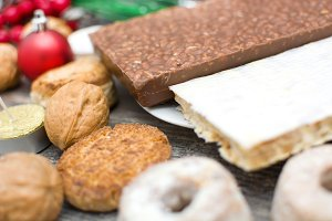 Turron and other Christmas sweets