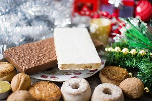 Nougat and other Christmas sweets