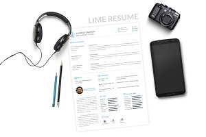 Lime Resume