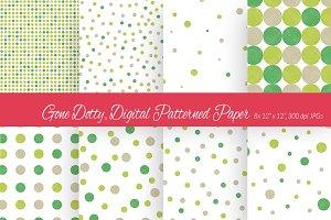 Gone Dotty, Digital Paper Scheme 9