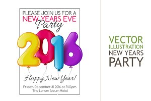 Invitation to New Year Party