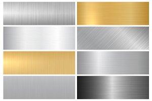 Metal textures. Panels.