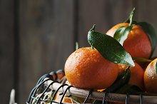 Sweet fresh tangerins