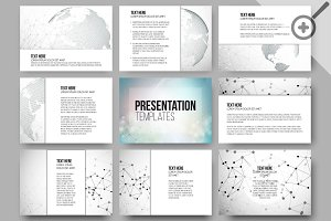 Set of 27 templates for presentation
