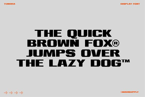 Tundra - Bold Display Font in Display Fonts - product preview 1