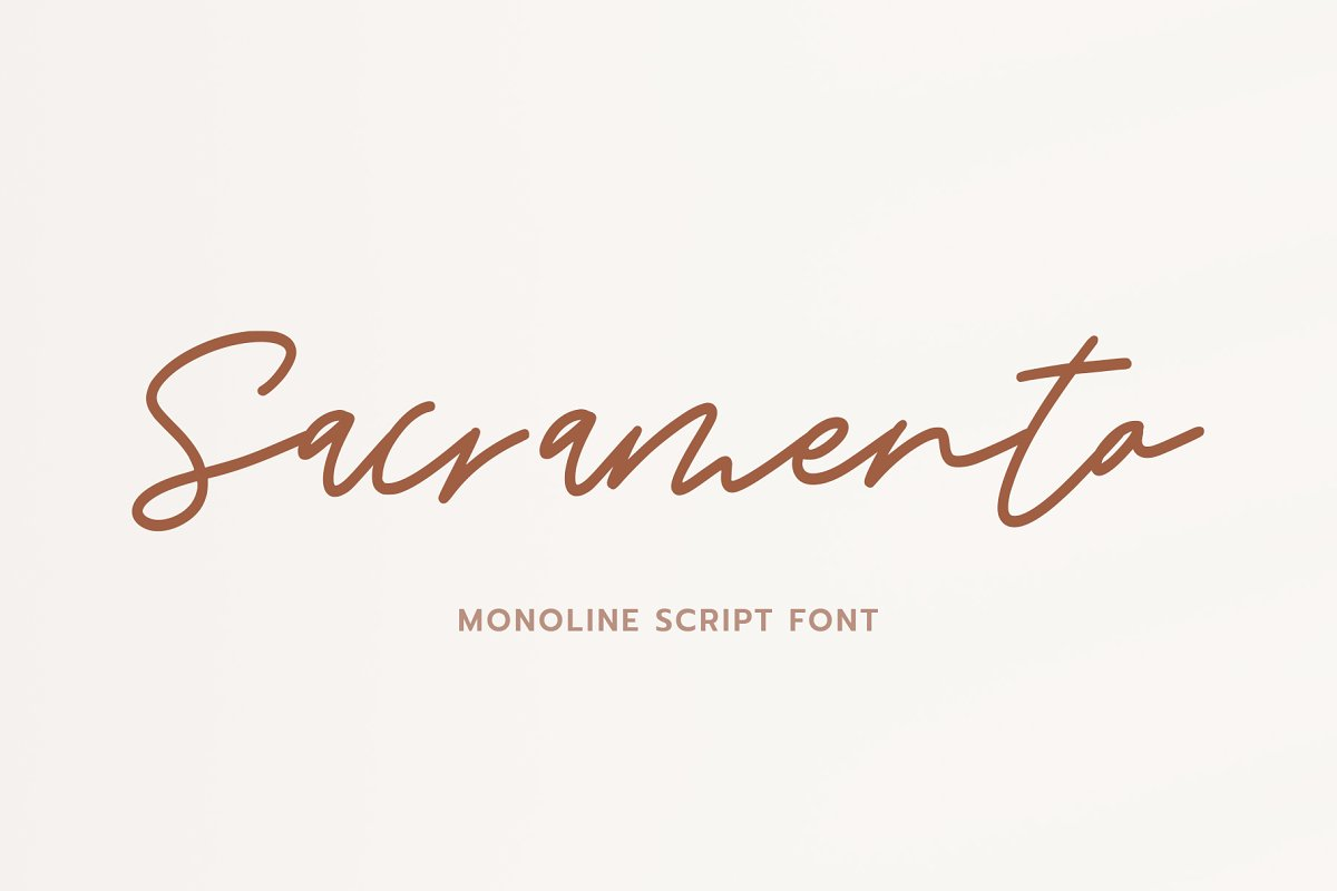 Sacramento // Sale in Script Fonts - product preview 8