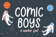 Comic Boys - Kids Bubble Font