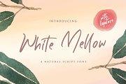 White Mellow - Handwritten Font