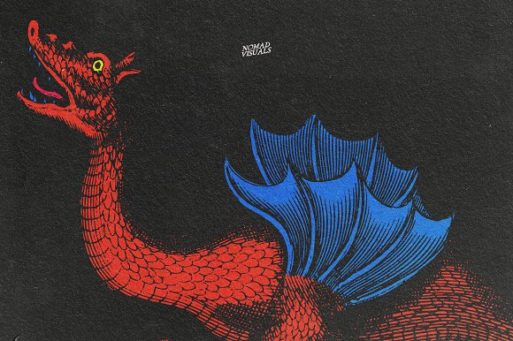 Snakes & Dragons in Illustrations - product preview 4
