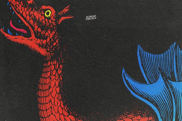 Snakes & Dragons in Illustrations - product preview 12
