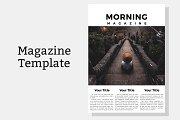 Morning Magazine Template