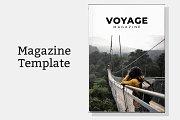 Voyage Magazine Template